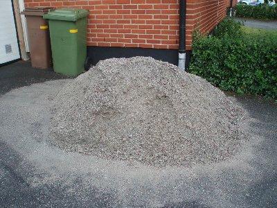 Det blev lite sand över ...