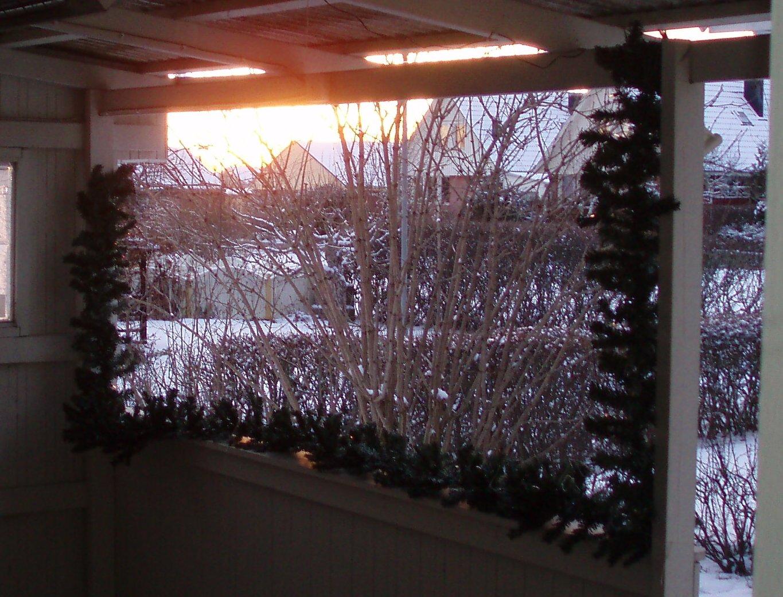 utsikt från vår altan ...