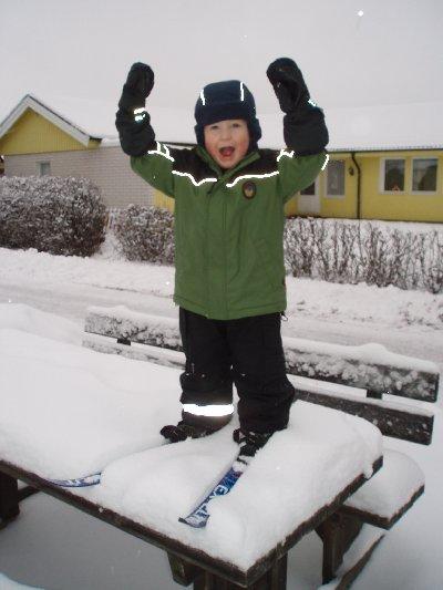 Jonatan - nya skidor