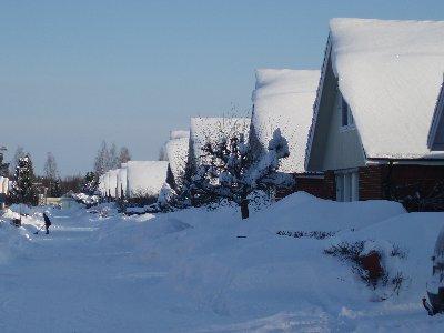 mer snö ...