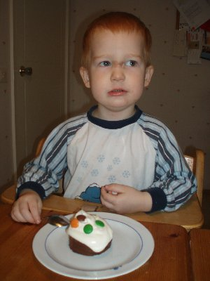 Jonatan fyller 3 år ...
