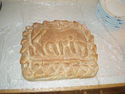 Karin - brödet ...