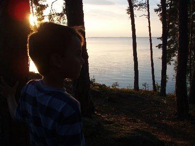 Emanuel - solnedgång ...