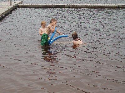 badar i Sandbäckshult ...