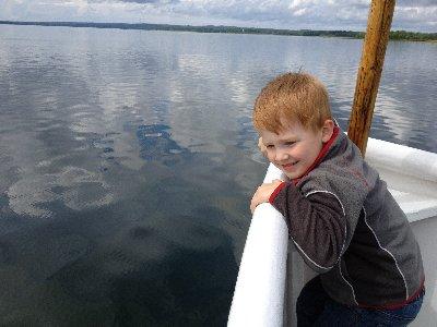 tur på Göta kanal ...